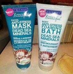 Freeman Beauty Dead Sea Minerals Mask and Foaming Bath
