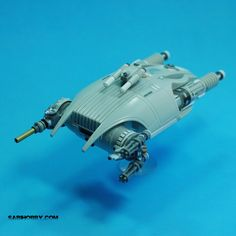 Gunship (aka The Scarab) Kit bash using parts from AMT/ERTL STAP with Battle Droid and Anakin's podracer kits