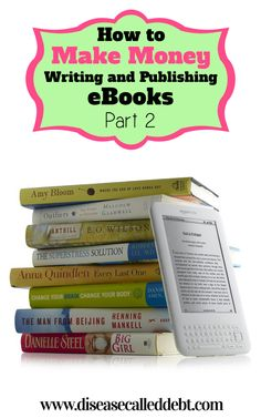 How to make money writing and publishing eBooks part 2. This post explains how to convert your written eBook into an ePUB file ready for publishing on Amazon, along with how to design an eCover for $5 or less.