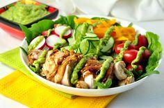 Mliekareň bez Avocado Crema.  Je to dip, to je obliekanie, to je Topper pre tacos!  | Www.flavourandsavour.com