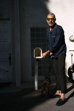 Jeff Goldblum for Mr. Porter