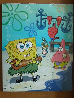 SPONGEBOB SQUAREPANTS 8x10 Photo/ THIS IS NOT A DVD @ niftywarehouse.com #NiftyWarehouse #Spongebob #SpongebobSquarepants #Cartoon #TV #Show