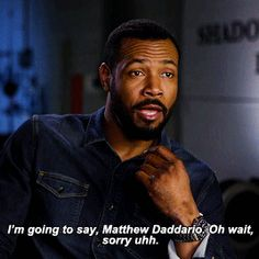 """harry-daddario: """""""" yourself isaiah mustafa """" """" I'd pick Matthew too! Isaiah Mustafa, Matthew Daddario, Wattpad, Clace, Shadow Hunters, The Mortal Instruments, You Youtube, Werewolf, Squad"""