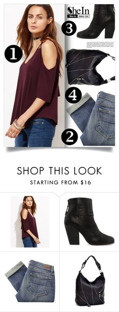 """""""Shein Top"""" by tawnee-tnt ❤ liked on Polyvore featuring rag & bone, Paige Denim and Dasein"""