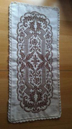 Cross Stitch Flowers, Cross Stitch Patterns, Headband Pattern, Hobbies And Crafts, Ava, Butterfly, Handmade, Decor, Hand Embroidery
