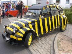 Citroën Ente als Tigerente 2cv6, Ds, Flower Power, Classic Cars, Monster Trucks, Sisters, Autos, Cars, Blue