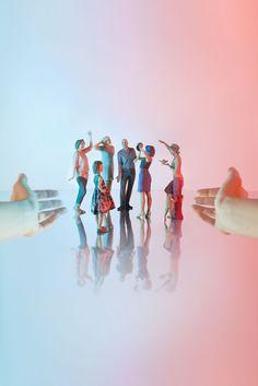La danse #Moïmee3D #CoolDeLuxe #CourBleue #BHV #Danse #Moïmap #Design