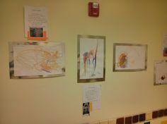 Fall 2013 Art Show @ Sandcastle Preschool; watercolors