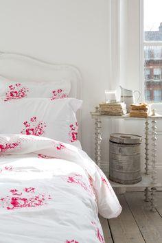 Buy Dove Cabbages & Roses Hatley Rose Bedding, Single duvet cover from our Duvet Covers range at John Lewis & Partners. Linen Bedding, Bedding Sets, Bed Linens, Chic Bedding, Bedroom Linens, Modern Bedding, Linen Fabric, Bedroom Decor, Bed Linen Australia