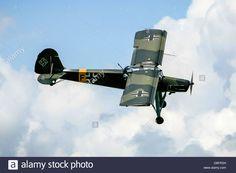 A Fieseler Fi 156 Storch Small German Liaison Aircraft Of World War Stock Photo, Royalty Free Image: 56895261 - Alamy