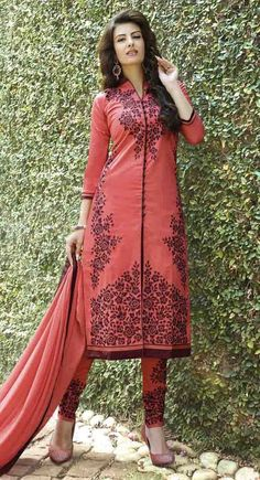 http://shreemadhufashion.com/salwar-kameez/tantalizing-red-cotton-salwar-kameez.html