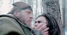 Not Present AND Hypervigilant and in Survival Mode! Tom Hardy in The Revenant