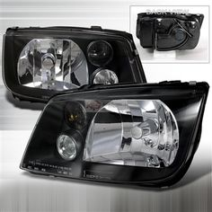 Spec D Euro Headlights - Black - LH-JET99JM-DP - Volkswagen - Jetta - 1999 - 2003 * Light up your ride's style with ultra-modern Spec-D Headlights * Custom crafted for a direct factory replacement fit * Plug-n-play installation:no rewiring, splicing or soldering required * Available in an array of styles: projectors, halos, CCFLs and more * Fully sealed to keep weather and moisture out * DOT approved * Your Spec-D Headlights are backed by a 90-day warranty $203.23