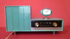 "Montgomery Ward ""Airline"" Turquoise Plastic Radio, 1950's - Google Search"