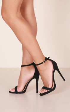 20f138704d7 Billini - Della Heels In Black Micro Produced