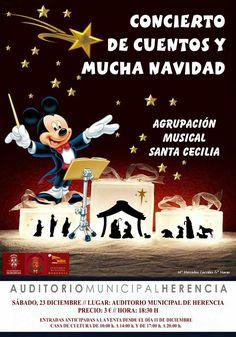Concierto de cuentos y Navidad de la agrupación Musical Santa Cecilia - https://herencia.net/2017-12-19-concierto-de-cuentos-y-navidad-de-la-agrupacion-musical-santa-cecilia/?utm_source=PN&utm_medium=herencianet+pinterest&utm_campaign=SNAP%2BConcierto+de+cuentos+y+Navidad+de+la+agrupaci%C3%B3n+Musical+Santa+Cecilia