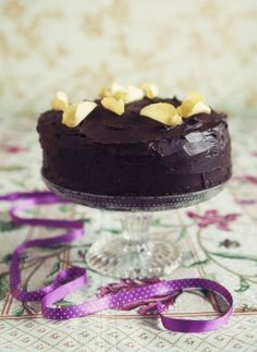 Chokladtårta / Chocolate cake to die for! My Favorite Food, Favorite Recipes, My Favorite Things, Chocolate Cake, Tart, Panna Cotta, Food And Drink, Easter, Cakes