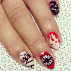Halloween nail art - Telegraph