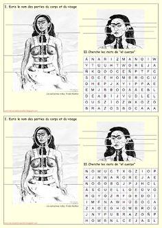 III, 7 - Me encanta escribir en español: El cuerpo: La columna rota de Frida Kahlo.