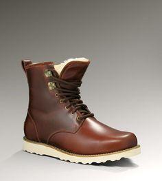 UGG Hannen Men's Boots- Cordovan 18