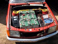 Custom-Built Electric Car - TechEBlog