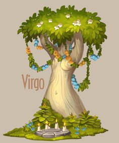 ArtStation - Amazing trees - Zodiac, Alexandra Semushina