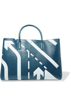 Shop on-sale Anya Hindmarch Ebury printed textured-leather tote. Browse other discount designer Totes & more on The Most Fashionable Fashion Outlet, THE OUTNET.COM