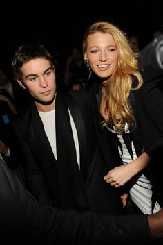 Chace Crawford & Blake Lively I wish they were together.