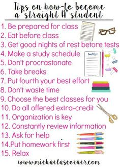 Learn how to get better grades for this upcoming school year! Increase your GPA now! Use these 15 tips! Learn how to get better grades for this upcoming school year! Increase your GPA now! Use these 15 tips! Life Hacks For School, Back To School Hacks, School Study Tips, Back To School Organization Highschool, Middle School Tips, Back To School Stuff, High School Tips, High School Essentials, Back To School Highschool
