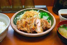 Pollo frito japonés. Te explica todos los detalles de esta receta oriental la autora del blog Recetas Japonesas.