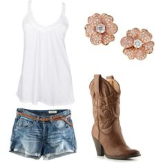 Country Girl Outfit Ideas   Summer Country Girl   outfit ideas
