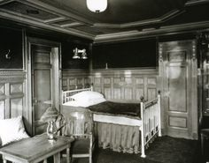 $15.96 RMS TITANIC FIRST CLASS STATEROOM WHITE STAR PASSENGER SHIP LINE 1912 PHOTO #Titanic #SteamShip #reference