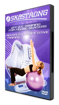 Advanced Competitive Training DVD, for the competitive skater looking for a highly advanced off ice training workout to improve skating skills.