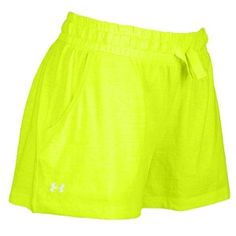 under armour women's shorts green | Under Armour Heatgear Charged Cotton Undeniable Shorts - Women's ...