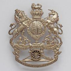 First Sussex Artillery Volunteers Officers Helmet Plate