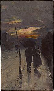 Tom ROBERTS, Going home