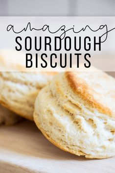 How to make the easiest flakey biscuits using sourdough discards! You can also use this recipe to easily make them without it as well! Very versatile! Flakey Biscuits, Sourdough Biscuits, Sourdough Recipes, Yeast Biscuits, Sourdough Starter Discard Recipe, Artisan Bread Recipes, Cooking Recipes, Starter Recipes, Crack Crackers