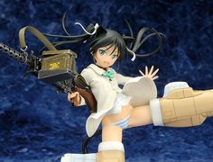 [New PVC Figure] Strike Witches' Francesca Lucchini takes to the skies - http://sgcafe.com/2013/11/new-pvc-figure-strike-witches-francesca-lucchini-takes-skies/