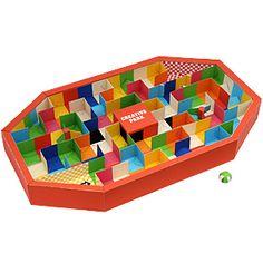 3 Dimensional Paper Maze.