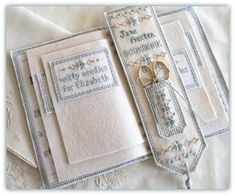 Jane Austen inspired Needlebook + a good first line on in side cover ...