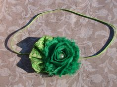 St Patrick's Day Green Rosette Baby by AvasTutuCuteBoutique, $9.00