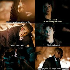 """#TVD 8x14 """"It's Been a Hell of a Ride"""" - Damon, Stefan and Cade"""