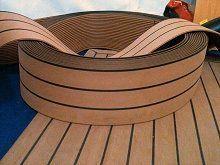 Marine pontoon flooring - pvc decking