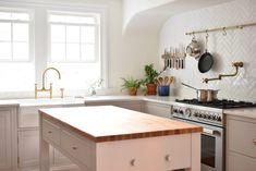 Quick Ship White Herringbone Tiles | Fireclay Tile | Fireclay Tile Herringbone Tile Pattern, Scandinavian Pattern, Fireclay Tile, Brick Tiles, Handmade Tiles, Style Tile, Farmhouse Design, Kitchen Tiles, Wood Cabinets