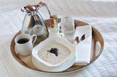 Room service breakfast...it works very well too!