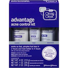 Face Skin Care Clean  Clear Advantage Acne Control Kit * More info could be found at the image url.