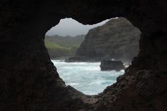 Heart Shaped Rock Hole