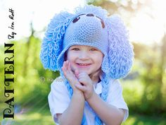 PATTERN Loopy the Poodle Hat Crochet PDF by IRAROTTpatterns