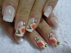 White and coral