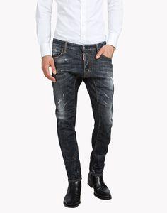 Tidy Biker Jeans - 5 Pockets Men - Dsquared2 Official Online Store